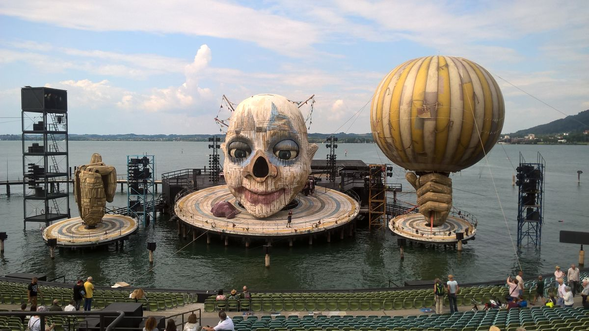 Bregenz Lakeside Theatre in 2019 with